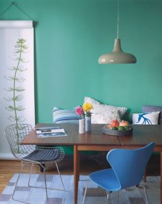 House of turquoise room