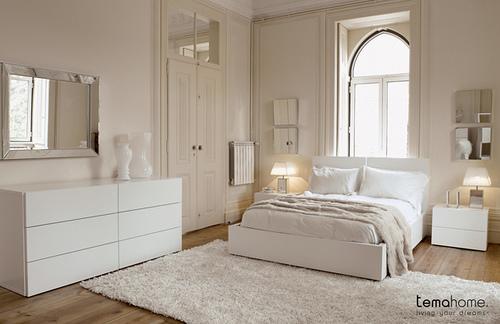white bedroom - Bembeyaz Yatak Odalar�