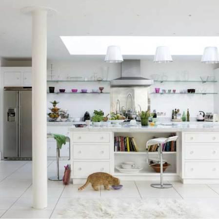Light, bright kitchen