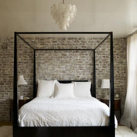 four-poster bed bedroom