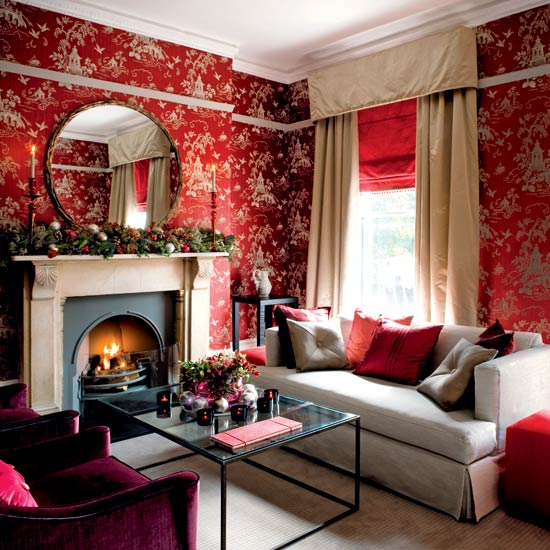 Modern Red Interior Design