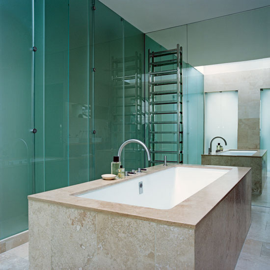 Glass Bathroom Walls