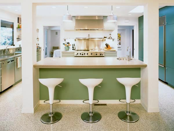 Retro Modern Kitchen Interior Designs Decorations Gallery Pictures