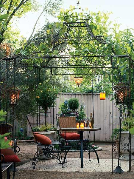 Gazebo garden