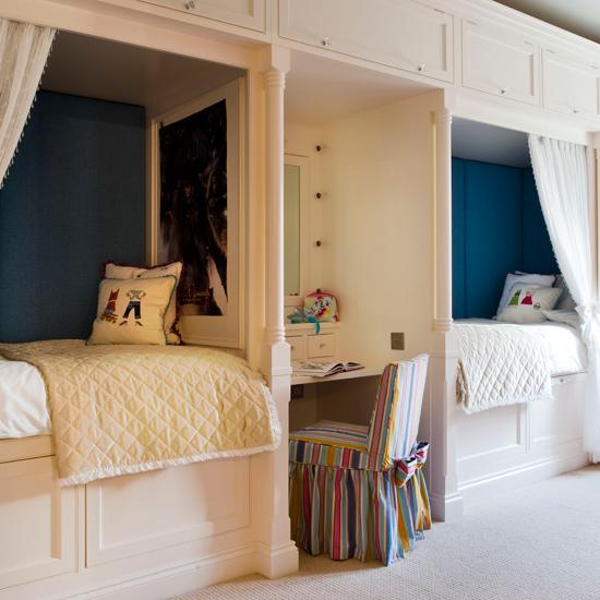built in children 39 s beds. Black Bedroom Furniture Sets. Home Design Ideas