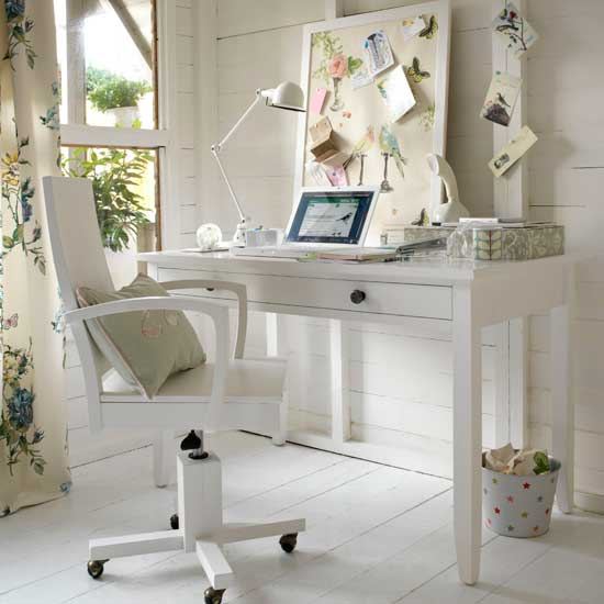Home Interior Dream: Classic Home Office Interior Decorating
