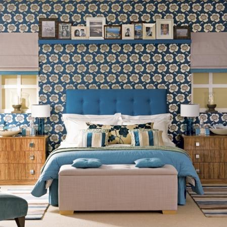 hotel-chic bedroom
