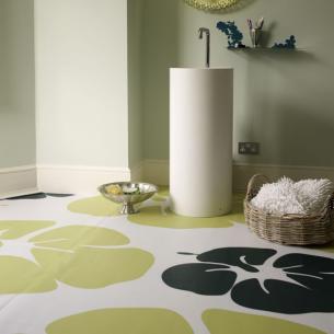 floral print flooring