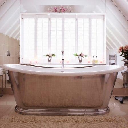 roomenvy - chic attic bathroom