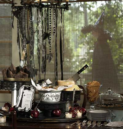 roomenvy - halloween feast