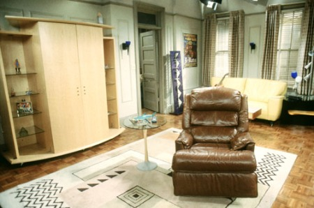 roomenvy - Chandler and Joey's living room from Friends