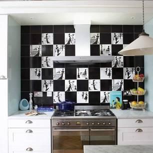 roomenvy - Parisien-chic kitchen splashback