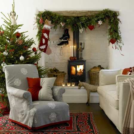 roomenvy - Nordic-style Christmas living room
