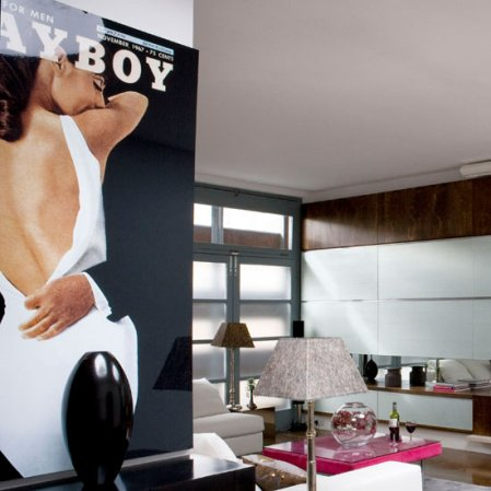 roomenvy - playboy bachelors living room