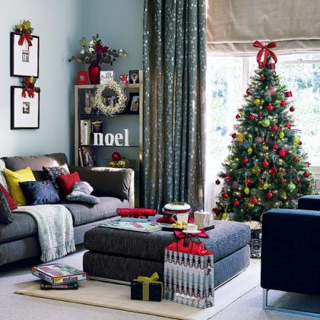 roomenvy - zingy brights Christmas living room