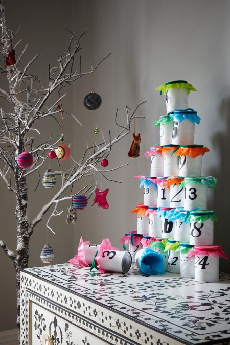 roomenvy - christmas advent calendar with a twist