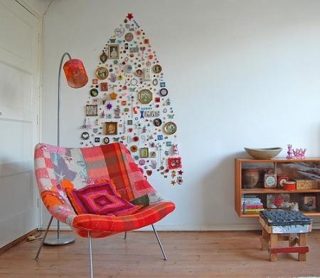 roomenvy - alternative Christmas tree