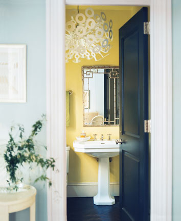 roomenevy - sunny cloakroom chandelier