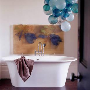 roomenvy - balloon bathroom chandelier