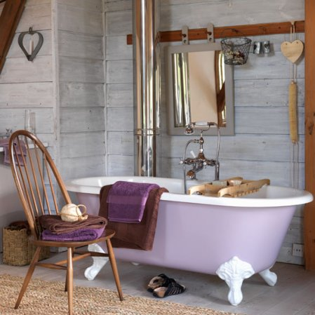 roomenvy - rustic country bathroom