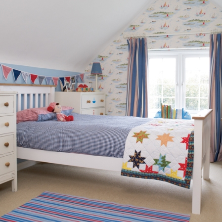 roomenvy - nautical theme boy's bedroom