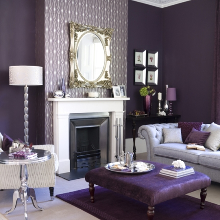 roomenvy - aubergine living room