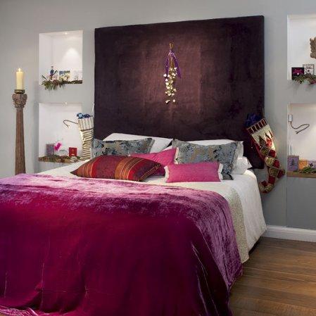 roomenvy - Eastern-inspired Christmas bedroom