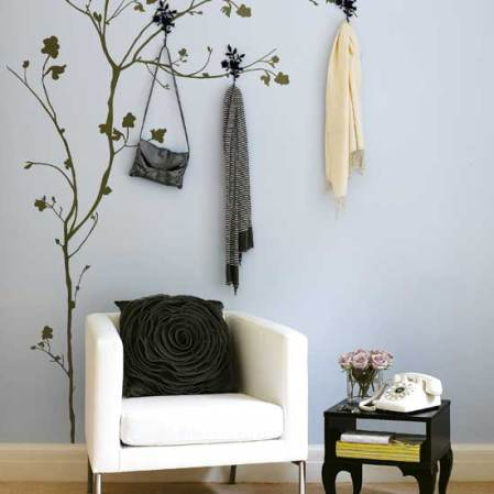 roomenvy - create wow-factor walls with top wallpaper and stencil tips