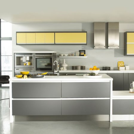 roomenvy - mellow yellow accents kitchen