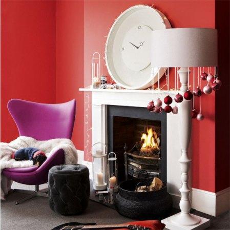 roomenvy - bauble blitz Christmas living room