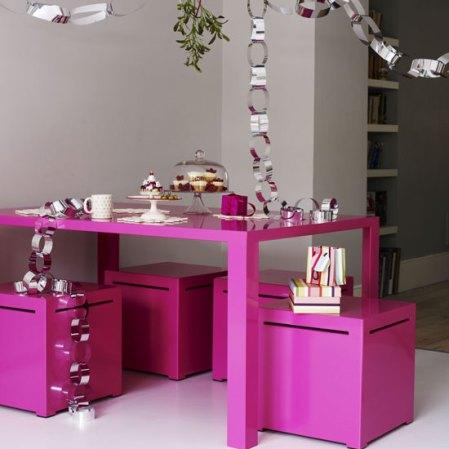 roomenvy - modern Christmas dining room