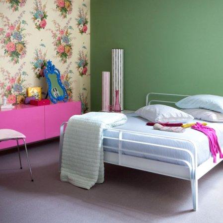 roomenvy - statement wallpaper bedroom