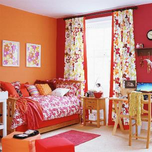 roomenvy - red and orange children's room