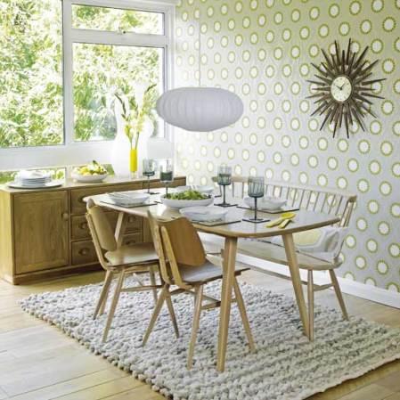 roomenvy - retro 1960s-inspired dining room
