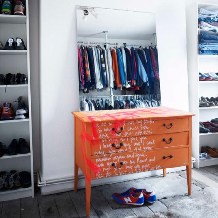 room envy - graffiti-style chest of drawers