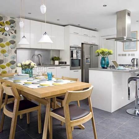 roomenvy - retro open-plan kitchen-diner