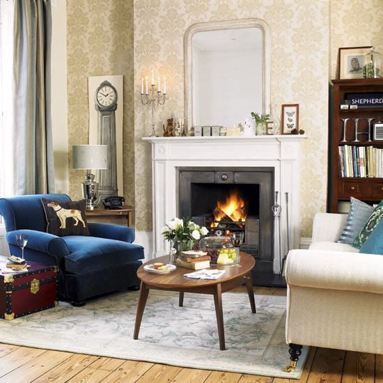 The Fireplace In Living Room Decorating Ideas Color For Living Room