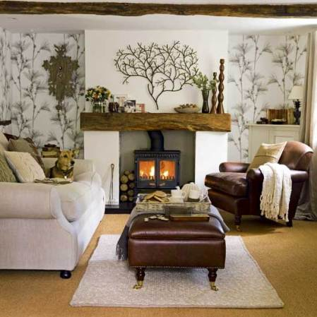 roomenvy - woodland cottage living room