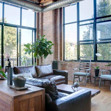 roomenvy - leafy living room