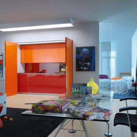 room envy - foldaway kitchen