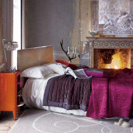 roomenvy - fireplace boudoir bedroom