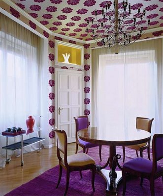 floral wallpaper room. floral wallpaper « roomenvy
