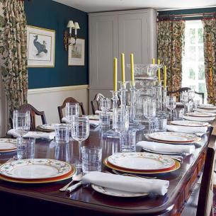 roomenvy - elegant dining room table setting