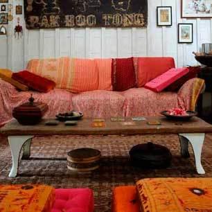 roomenvy - Eastern-inspired living room