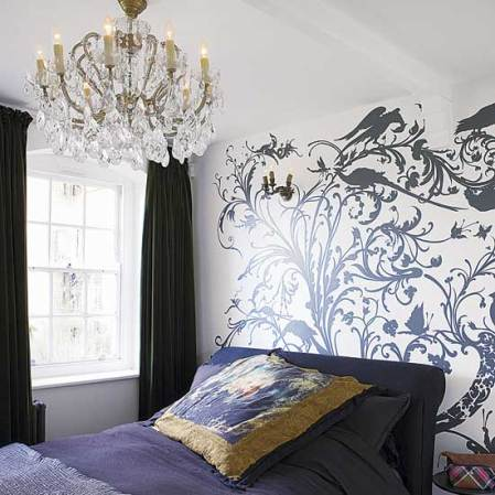 roomenvy - romantically gothic bedroom