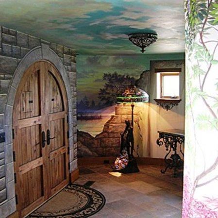 roomenvy - castle hallway