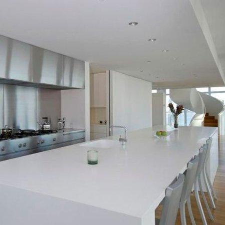 roomenvy - white minimalist kitchen