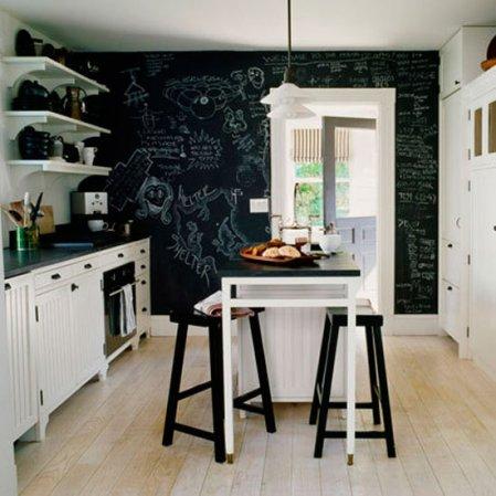roomenvy - chalkboard kitchen