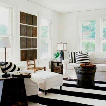 roomenvy - seaside stripes living room