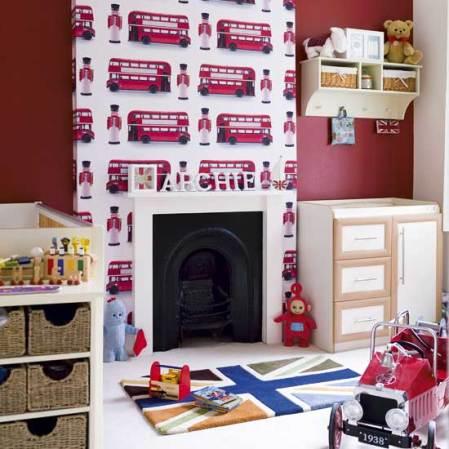 roomenvy - London's Calling children's room